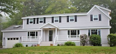 Photo for Extraordinary  Boothbay Harbor Home with Water Views and Large Private Backyard