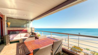 Photo for Luxury Apartment - Large Sunny Terrace with Spectacular Views - Frontline Beach