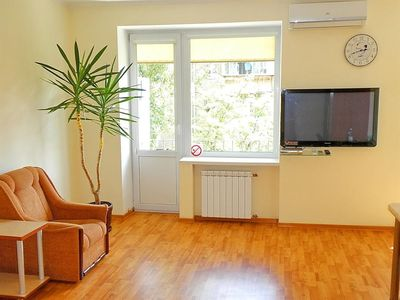 Photo for Studio apartment in Kiev with Internet, Air conditioning, Washing machine (406391)