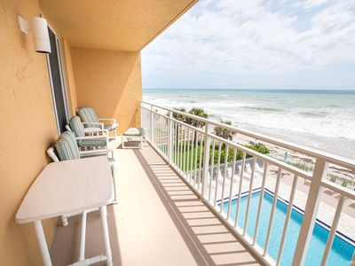 Photo for Beachfront Vacation Rental, W/ updated kitchen. Amazing Views of the ocean!