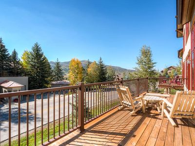 Photo for 4 Bedroom Townhome, Summer Valley Views, Private Deck & Resort Amenities!