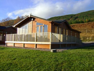 Terrific Executive Range Nevis 3 Bedroom Self Catering Lodge Spean Bridge Home Interior And Landscaping Ymoonbapapsignezvosmurscom
