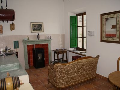 Photo for Luxurious nostalgic apartment A1 on the Finca la Cañota resort in Lecrin center