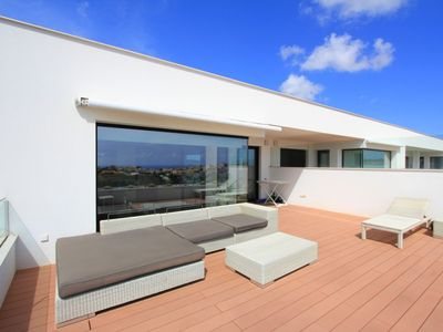 Photo for LUXURY PENTHOUSE WITH SEA VIEWS, SWIMMING POOL, SPA JACUZZI, NEAR BEACH