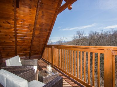 Photo for MOUNTAIN COVE CABIN- LUXURY, PET FRIENDLY CABIN- POOL TABLE/HOT TUB/FIRE PIT