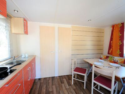 Photo for Camping Odalys l'Elysée *** - Mobil Home 3 Rooms 4/5 People