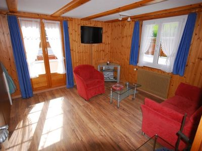 Photo for Apartment Chalet Alpenruh in Saas-Fee - 4 persons, 1 bedrooms