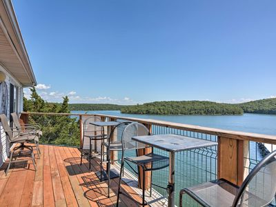 Photo for NEW! Lake of the Ozarks Condo w/Deck, Pool & Views