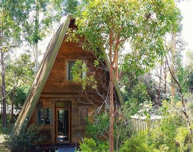 Photo for Finn's Cabin - Timber Cottage in woodland setting