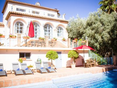 Photo for Spacious 6 Bed Country Villa With Seaviews And Private Pool
