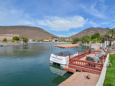 Welcome to the Hacienda at Arrowhead Lakes,  Boat Dock and Boat at your property