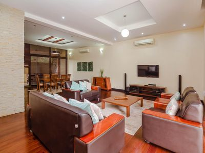Photo for Spacious 3 Bedroom Villa with pool and gym