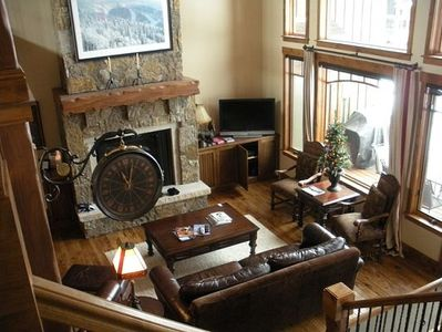 Photo for Steamboat Luxury Townhome, 5BR,5.5BA, Private Hot tub, Walk to slopes!  Shuttle