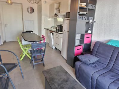 Photo for 1BR Apartment Vacation Rental in Sérignan