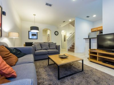 Photo for Regal Oaks Townhome with private spa and Conservation view