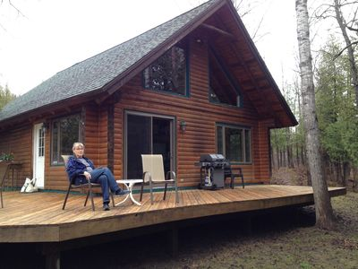 Photo for Relax Directly On The Crystal Clear Platte River!