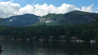 Photo for Lakefront - Cozy Cottage Directly On Beautiful Lake Lure!