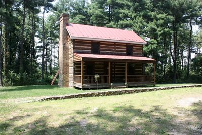 Historic 1869 cabin renovated situated on 5 acres - perfect hunt box.