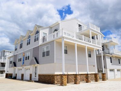 OCEAN VIEWS!!  Beautiful Beach Block townhome, only the 3rd house off the beach with incredible ocean views from every deck! \