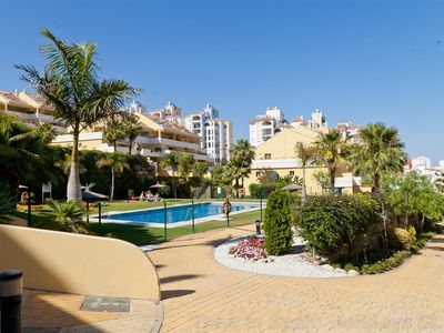 Photo for Beautiful duplex penthouse with sea views, Five minutes walk to Estepona port and beaches