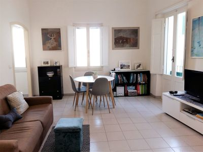Photo for Bright apartment in the historic center