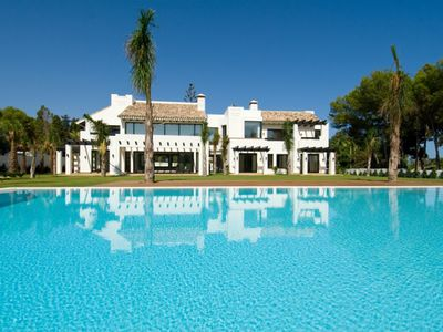 Photo for CONTEMPORARY STYLE PROPERFY , FRONTLINE GOLF GUADALMINA,ACCESS TO GOLF AND BEACH