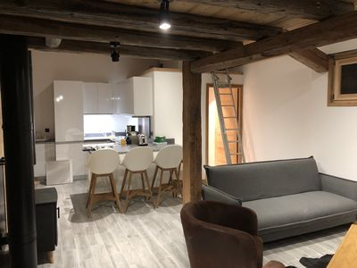 Photo for The Posettes. Nice apartment in an old renovated completely in 2018