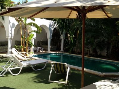 Photo for Charming villa between hotels LA BADIRA 5 * and LE SULTAN 4 * - Beach 200 m