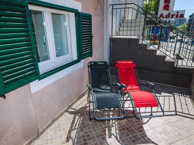 Photo for One bedroom apartment with terrace Rijeka