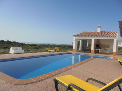 Photo for Luxury villa with pool, with Wide View Mar.