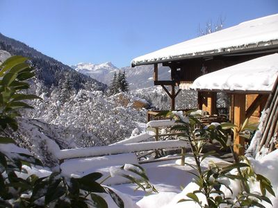 Photo for Rental apartment in a mountain setting between La Clusaz Le Grand Bornand