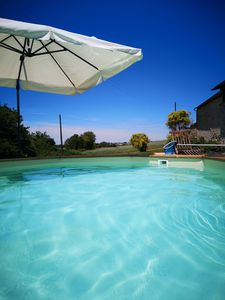 Photo for Spacious farmhouse with heated pool &  hot tub set in the beautiful Loire Valle