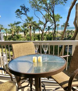 Photo for Awesome Oceanfront Palmetto Dunes Villa, Steps to Beach & Pool, Beach Gear Incl.