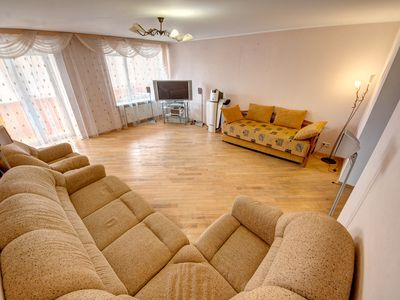 Photo for Spacious two bedroom apartment on Turgenev street