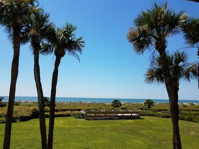Photo for Newly Renovated Direct Ocean Front; Close to Coligny Plaza.