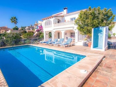 Photo for 3 bedroom Villa, sleeps 8 in La Fustera with Pool, Air Con and WiFi