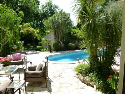 Photo for Large Sunny 4 bed Villa with pool in tranquil surroundings close to Vence