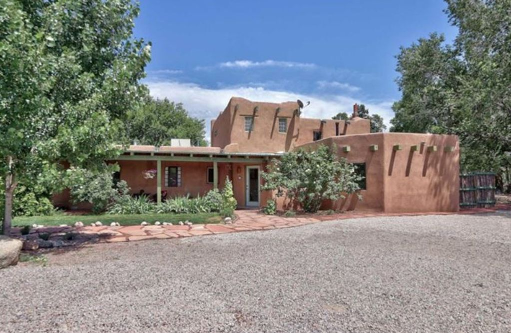 Charming Adobe Home In Corrales New Mexico
