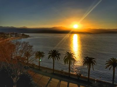 Photo for Luxurious apartment with exceptional views of the sea and the citadel of Ajaccio