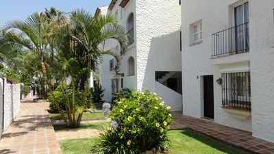 Photo for Charming 2 bed Andalusian townhouse close to all amenities