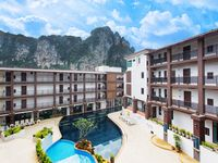 Location: very good. Just 10 mins walk from Ao Nang Pier. Tons of restaurants, tour booking,