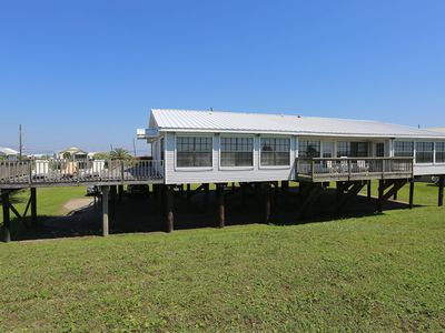 Photo for Captain Black - Beachfront House w/ Covered & Uncovered Decks!