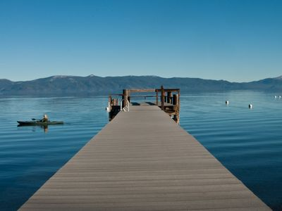 Photo for Lovely lakefront, old Tahoe charm