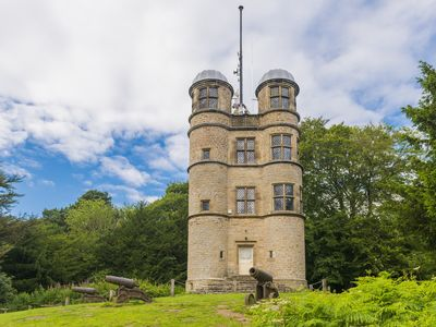 Photo for The Hunting Tower | a unique property overlooking Chatsworth House