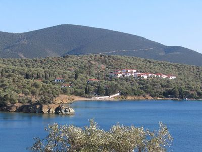 Photo for Beautiful villa 100 paces from waters edge on tiny traffic free island