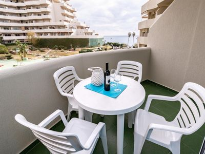 Photo for Benal Beach 4 - First Line Beach 2BR Apartment in Benalmadena, Water Park