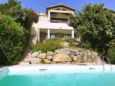 Photo for Beautiful villa with private pool & stunning sea views in South Eastern Sardinia
