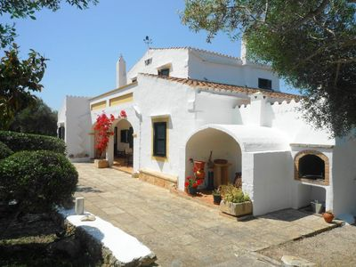 Photo for Catalunya Casas: Marvelous Rustic Villa Andrea with pool in Menorca, up to 10 guests!