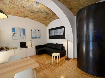 Photo for Artist's Loft In The Heart Of Monti, Central Rome, 2/4 People