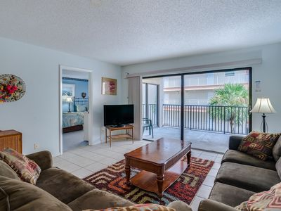 Photo for Take the comforts of home with you in this condo on the beach!